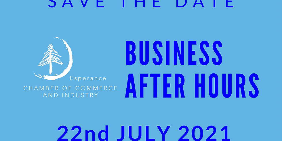 Business After Hours 22 July 2021