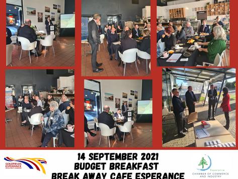 Budget Breakfast 2021