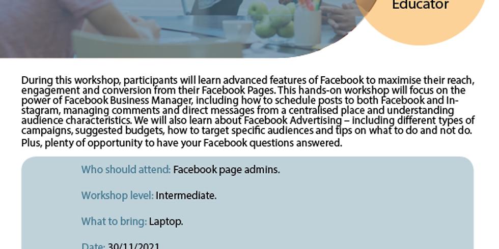 Facebook Advanced Workshop