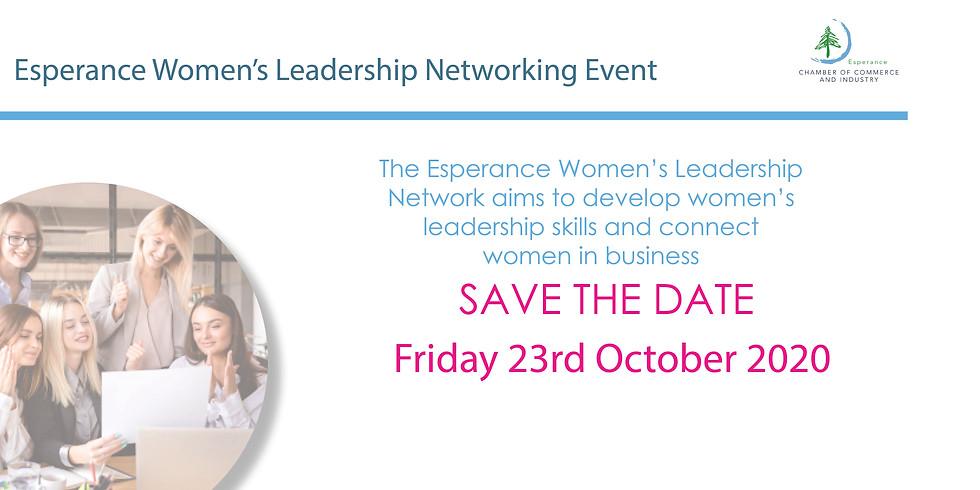 Esperance Women's Leadership Networking Event