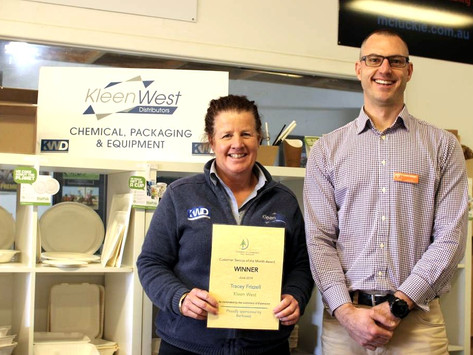 Kleen West takes out June Award