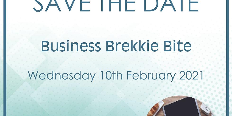 Business Brekkie Bite
