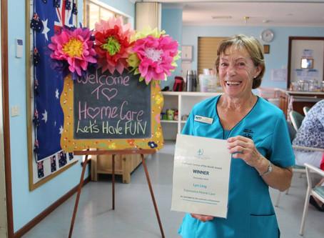 December Customer Service Award Winner