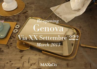 MAX&Co. STORE OPENS IN GENOVA