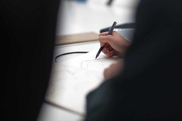 Taller de sketching presencial de 5 horas en nuestro estudio en Madrid