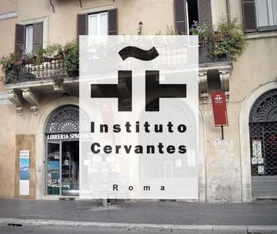 EXHIBITION AT INSTITUTO DE CERVANTES IN ROME
