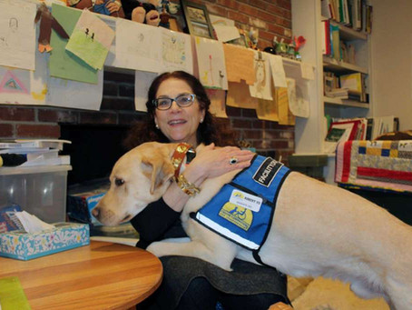 Meet your neighbor... psychologist Nancie Spector, who uses dogs in her work