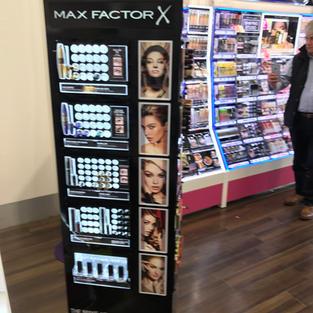 Max Factor Cosmetics Retail Unit