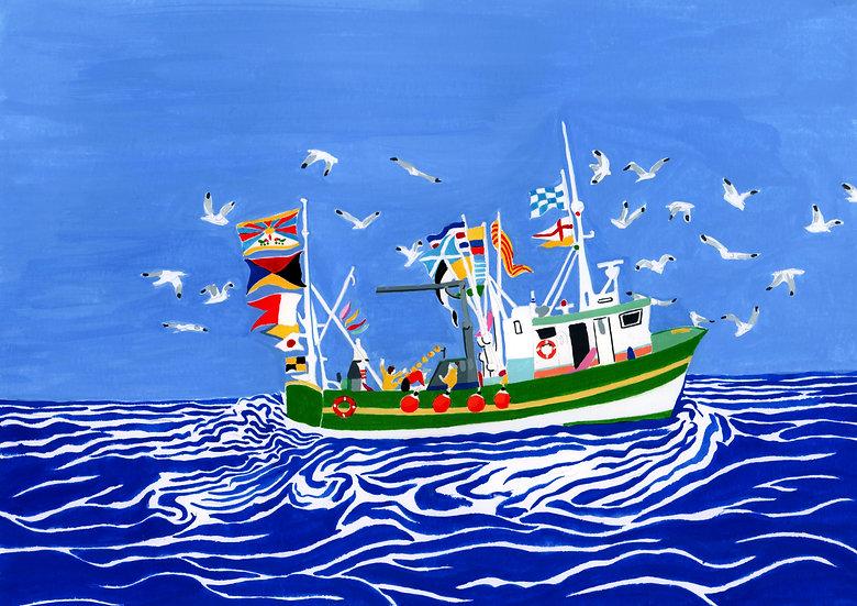 Pêche au Tibet