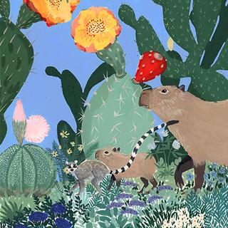 """Capybaras"" détail"
