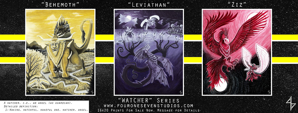 Watcher Series Prints For Sale