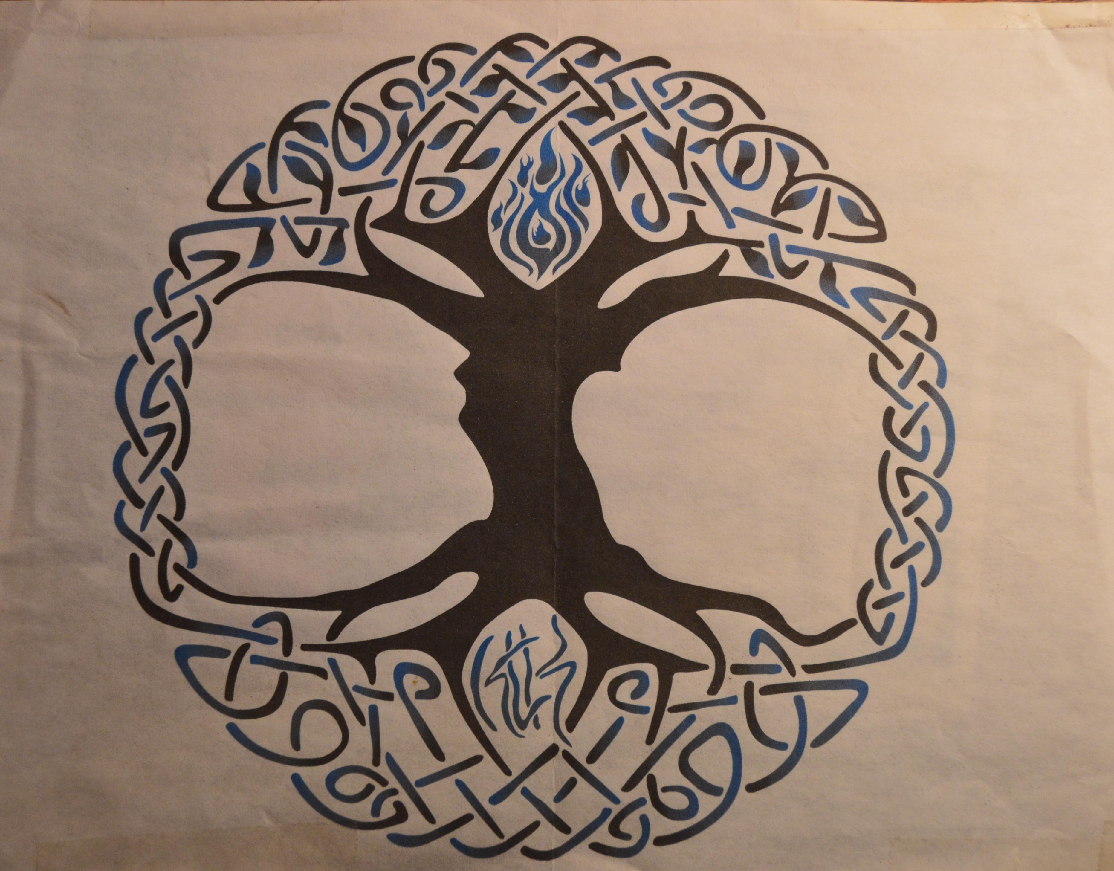 Tree of Life - Tattoo Design