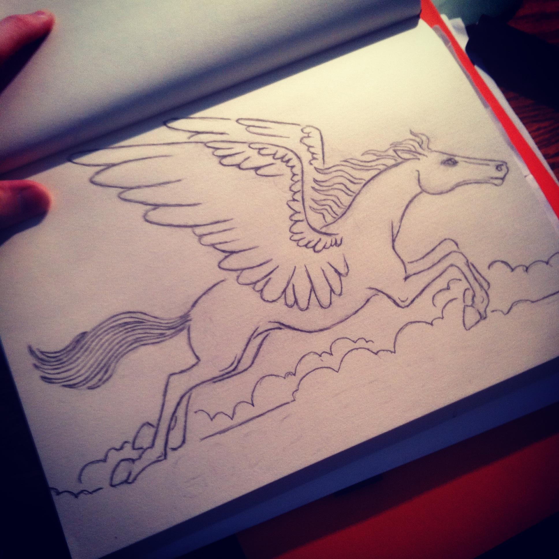 GodSpeed Sketch