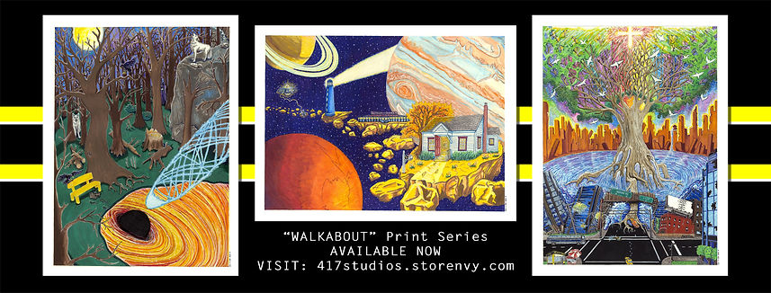 Walkabout Series Prints for Sale Now
