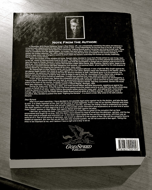 Book Back Cover Design