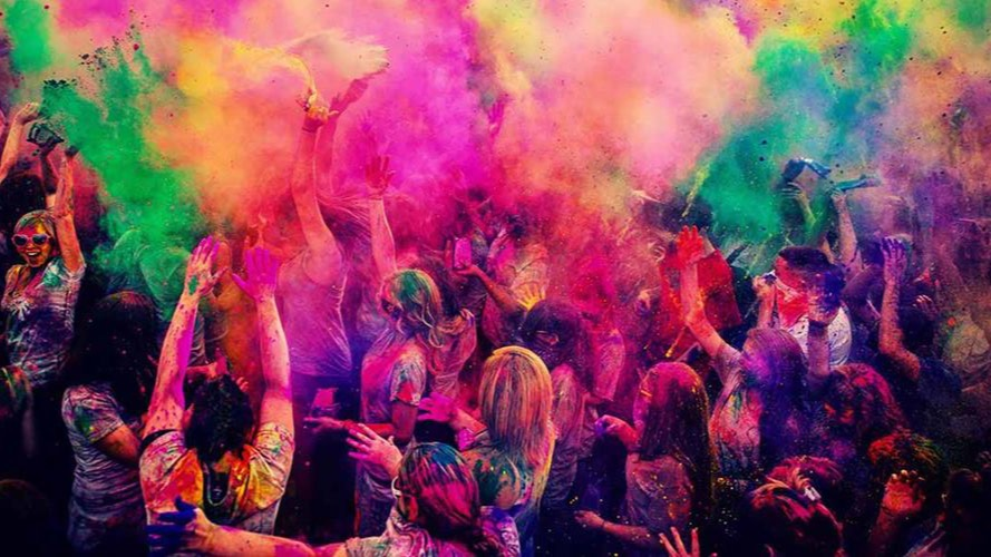 Holi in The City