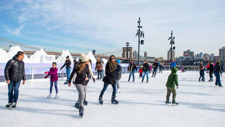 NYC Winter Winterland Rink at Pier 17.jp