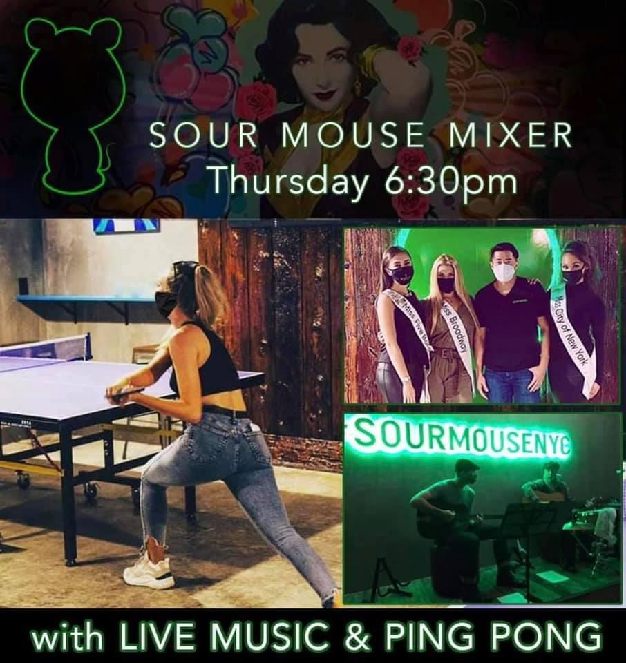 Ping Pong Night (Free Drink & Live Music)