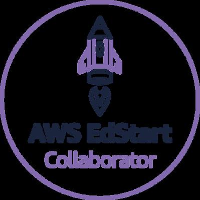 AWS EdStart_Tier_Badge_collaborator_cmyk