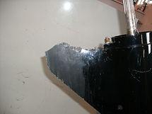 skeg repair before rebuilt