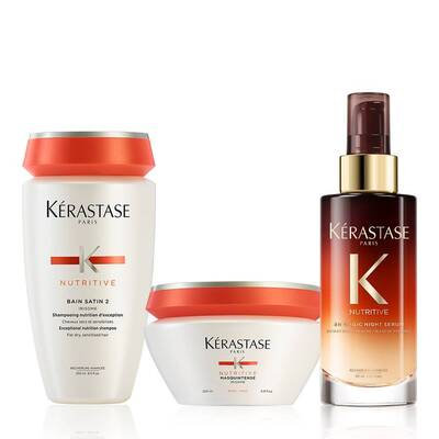 Ensemble Nutritive Moderately Dry Hair Care Set
