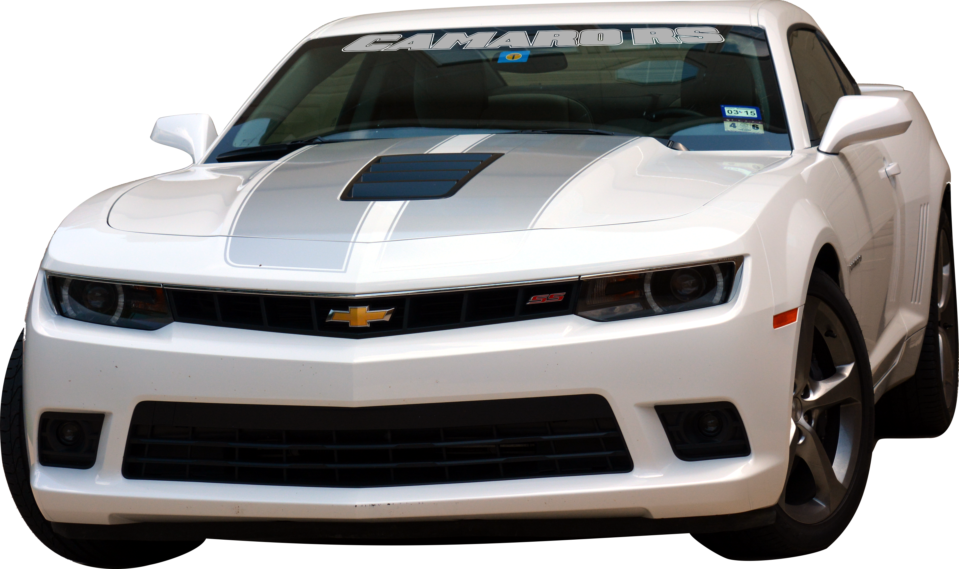 CAMARO RS Windshield Graphics