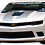 Thumbnail: Camaro RS - Gray and White Windshield Graphic
