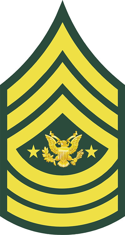Command Sergeant Major of The Army Decal