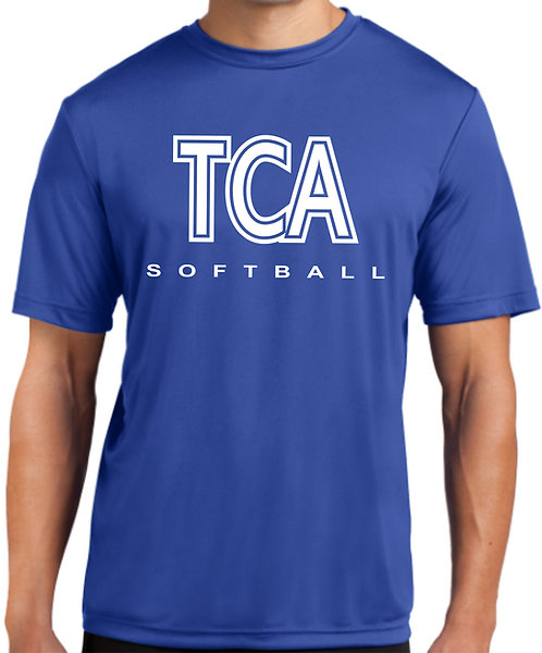 TCA Spirit Wear T-Shirt Royal Dry Fit - ST350