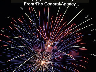 From the staff of The General Agency - we hope you had a safe and enjoyable 4th of July!