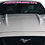 Thumbnail: Mustang GT - Pink and White Windshield Graphic