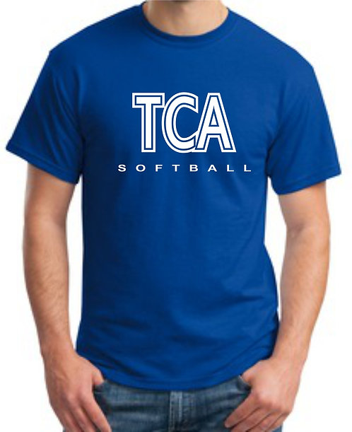 TCA Spirit Wear T-Shirt Royal