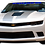 Thumbnail: Camaro SS - Blue and White Windshield Graphic