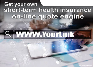 Sell individual short-term medical on-line