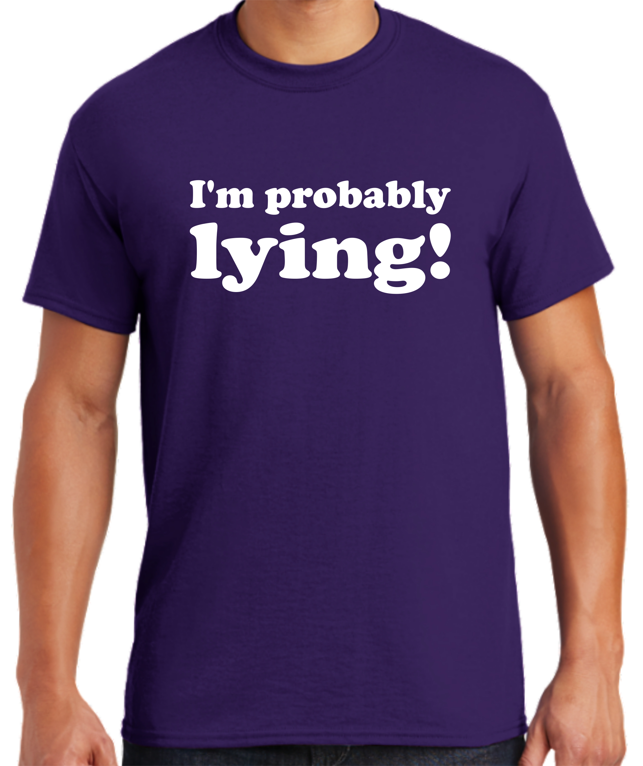 107-61617 - Im probably lying - PURPLE