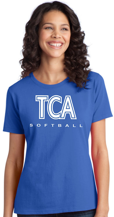 TCA Spirit Wear Ladies Royal Shirt - LPC150