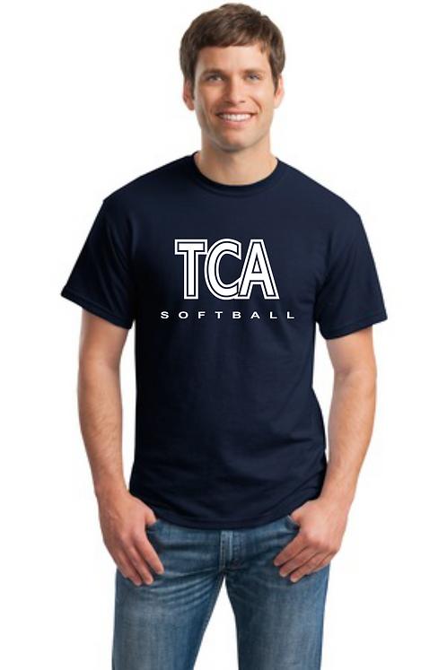 TCA Spirit Wear T-Shirt Navy