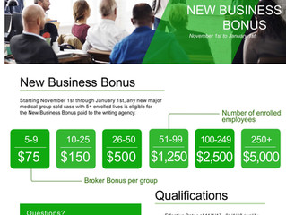MEDOVA - 4TH QUARTER NEW BUSINESS BONUS