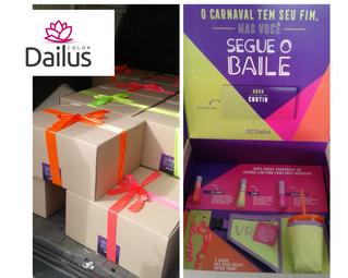 Manuseio Dailus Carnaval 'Segue o Baile'