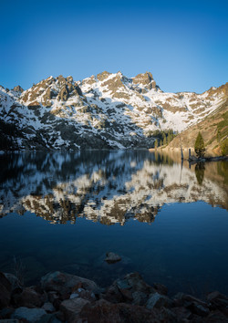 Reflections at Dawn, Sierra Buttes