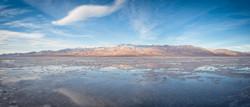 Death Valley Flooded Salt Flats