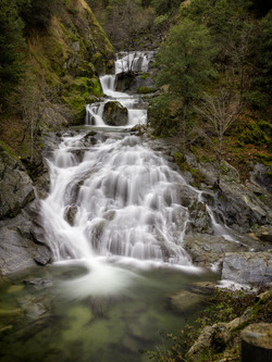 Lower Crystal Creek Falls