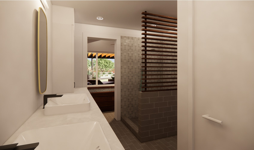 SHASTA LAKE REMODEL - INTERIOR VIEW - BATHROOM