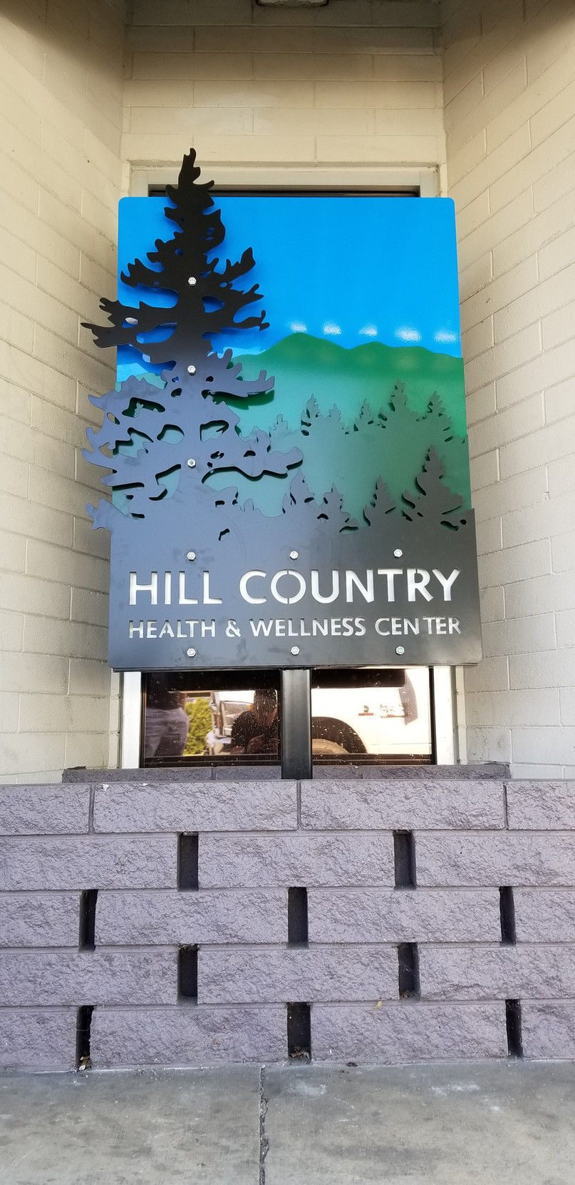 HILL COUNTRY SIGN