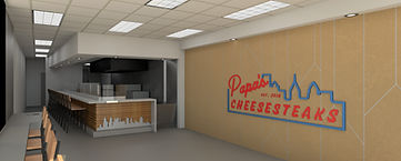 REDDING ARCHITECTURE - PAPA'S CHEESESTEAKS