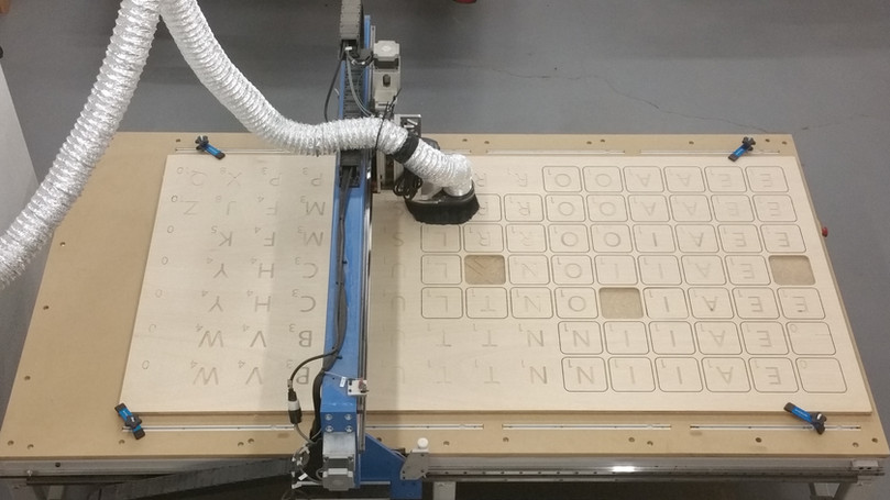 CNC CUT YARD SCRABBLE