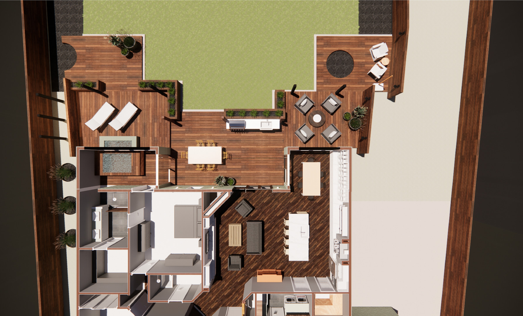 SHASTA LAKE REMODEL - 3D FLOOR PLAN