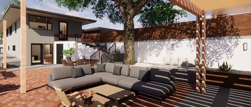 DOWNTOWN REDDING REMODEL - NEW OUTDOOR LIVING SPACE
