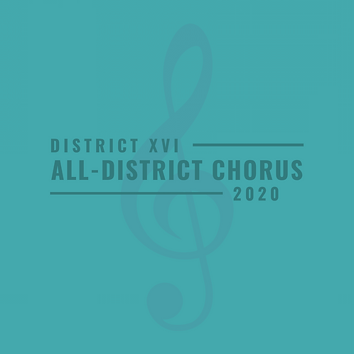 District XVI All-District Choir 2020