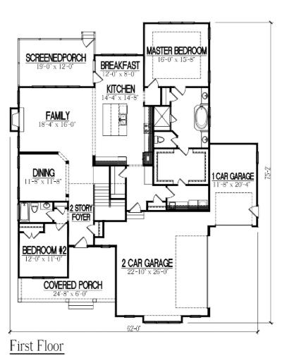 Robin II Downstairs